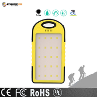 High power LED lamp solar power bank